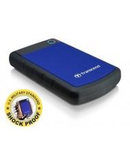 External HDD   TRANSCEND   StoreJet   1TB   USB 3.0   Colour Blue   TS1TSJ25H3B