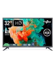 "TV Set GAZER 32"" Smart/HD 1366x768 Wireless LAN Bluetooth Android Graphite TV32-HS2G"