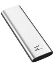External SSD|NETAC|128GB|USB-C|Write speed 480 MBytes/sec|Read speed 520 MBytes/sec|NT01ZSLIM-128G-32SL
