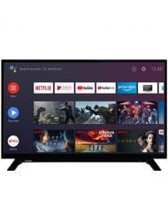 "TV Set TOSHIBA 43"" Smart/FHD 1920x1080 Wireless LAN Bluetooth Android Black 43LA2063DG"