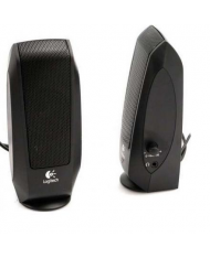 Logitech LGT-S120 Speaker type 2.0, 3.5mm, Black, 2.2 W