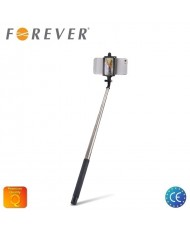 Forever MP-310 Selfie Stick 100cm - (50-84mm Fix) Monopod for Back Camera with Mirror Black