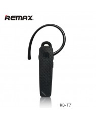 Remax RB-T7 Fashion & Delicate Bluetooth 4.1 Headset Universal Multipoint Headset (iOS/Android) Black