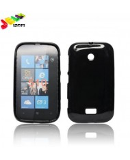 Forcell Jelly Back Case Nokia 510 silicone case Black