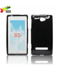 Forcell Jelly Back Case HTC 8S silicone case Black