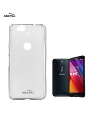 Kisswill Frosted Ultra Thin 0.6mm Back Case Asus Zenfone 2 ZE550ML / ZE551ML Transparent