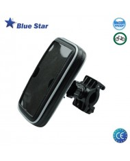Blue Star BS-BIKE3 Universal (15x5.5cm) Bike Holder with waterproof IPX2 zipper Case