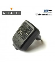 Alcatel TUEU050055-A00 Universal USB Plug 5V 550mA Travel Charger Black (OEM)