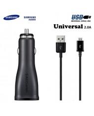 Samsung ECA-U21CBE Original USB Plug 2A Car 12/24V 5V Charger + Micro USB Cable