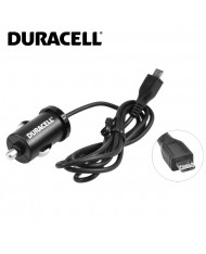 Duracell Universal 1A Micro USB Car 12V DC 5V Charger with 1m Cable Black