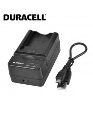 Duracell Analog Panasonic DE-A46 Camera USB Charger for Lumix DMC-TZ11 DMC-TZ15 CGA-S007 Battery