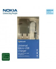 Nokia AC-20E Original Micro USB Charger universal 750mAh Flat Cable