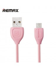 Remax LESU Strong & Flexible Universal Micro USB Data & Charging Cable 1m Pink