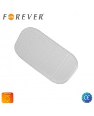 Forever Anti-Slip Car Panel Nano Gel Pad 14x9cm - Phone / Any Mobile Device Holder Transparent