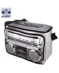 Fydelity Jambox Coolio Thermo Shoulder Bag with Speakers (35х24х20cm) Silver