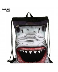 "Mojo ""Shark Attack Costume"" Backpack with cape (45х34сm) Multi Color"