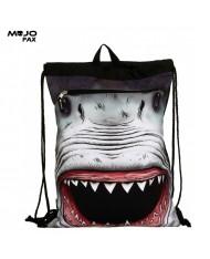 "Mojo ""Shark Attack Costume"" Backpack with cape (45х34сm) Multi Color"