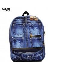 "Mojo ""Denim Jeans BP"" Backpack (43х30х16сm) Multi Color"