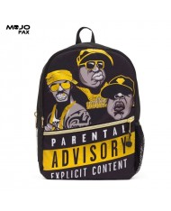 """Mojo """"Straight Outta Brooklyn: Rappers"""" Backpack (43x30x16cm) Multi Color"""