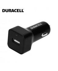 Duracell Universal 2.4A  Single USB Plug Car 12V-24V DC 5V Fast Charger Smartphone / Tablet PC Black