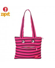 ZIPIT Monster Shoulder bag (27x24x3cm) Pink