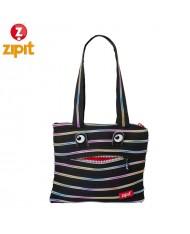 ZIPIT Monster Shoulder bag (27x24x3cm) Black