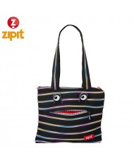 ZIPIT Monster Shoulder bag (27x24x3cm) Black