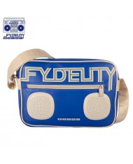Fydelity Namesake G-Force Shoulder Bag with Speakers (35х20х10cm) Blue