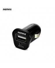 Remax Compact 2.1A USB Plug Car 12V/24V Charger (Tablet PC/Mobile Phone) Black