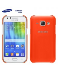 Samsung EF-PJ100BOE Original Super Slim Plastic Back Case J100H Galaxy J1 Orange