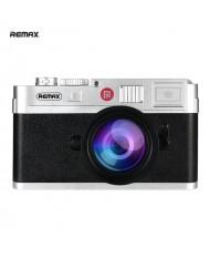 Remax RPP-31 10000mAh Retro Photo Camera Design Power Bank 2x USB Plug 5V 1.5A / 2.1A Charger Black