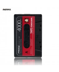 Remax PPP-15 4000mAh Proda Old Audio Tape Design Power Bank USB Charger 5V 2.1A Max Black