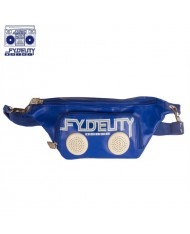 Fydelity Namesnake Bump Small Shoulder Bag (27x12x8cm) with Speakers Blue