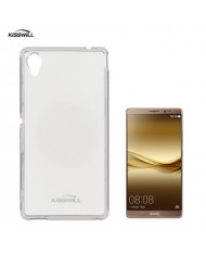 Kisswill Frosted Ultra Thin 0.6mm Back Case Huawei Mate 8 Transparent