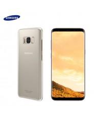 Samsung EF-QG955CFE Original super slim back cover case G955 Galaxy S8 Plus / S8+ Clear/Gold