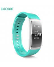 iWOWN I6 Pro Fitness Tracker - 2in1 Heart Monitor and Smart Watch Bracelet Oled Display & Touch Panel Green