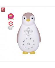 Zazu Zoe Smart Penguin - Music-Sound Box with Wireless Speaker & Nightlight for childrens (0+) Pink