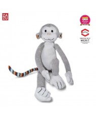 Zazu Max Smart Monkey - Soft Toy with Sleep Melodies Music Box and Night Lamp for childrens (0+)