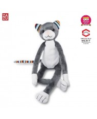 Zazu Katie Smart Cat - Soft Toy with Sleep Melodies Music Box and Night Lamp for childrens (0+)