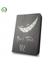 """GreenGo Universal 9-10"""" Tablet PC Eco Leather Book Case Don't touch me"""