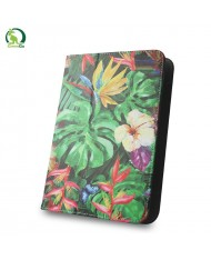 """GreenGo Universal 7-8"""" Tablet PC Eco Leather Book Case Jungle"""