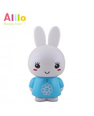 Alilo G6 LV Smart Rabbit - Latvian Story and Song Play / Voice Record Toy (0-12 years) Night Led Blue