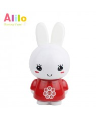 Alilo G6 LV Smart Rabbit - Latvian Story and Song Play / Voice Record Toy (0-12 years) Night Led Red