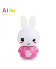 Alilo G6 LV Smart Rabbit - Latvian Story and Song Play / Voice Record Toy (0-12 years) Night Led Pink