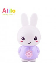 Alilo G6 LV Smart Rabbit - Latvian Story and Song Play / Voice Record Toy (0-12 years) Night Led Purple