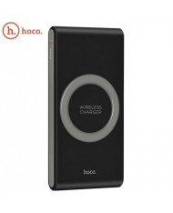 Hoco B32 Multi Port 8000mAh Wireless 1A Qi Plate Power Bank External Charger 5V USB 2.1A Type-C input Black