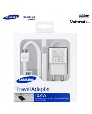 Samsung EP-TA10EWE Universal Adaptive USB Plug 2A Super Fast Charger 10.6W + Micro USB 21pin Cable