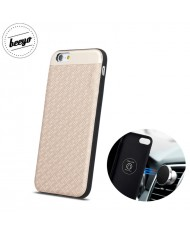 Beeyo Skin Magnetic car holder fix back cover case for Samsung G950 Galaxy 8 Beige