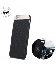 Beeyo Skin Magnetic car holder fix back cover case for Samsung G950 Galaxy 8 Black