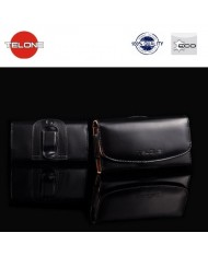 Telone Viva Universal Size (12x5.5cm) Eco Leather Belt Case Black